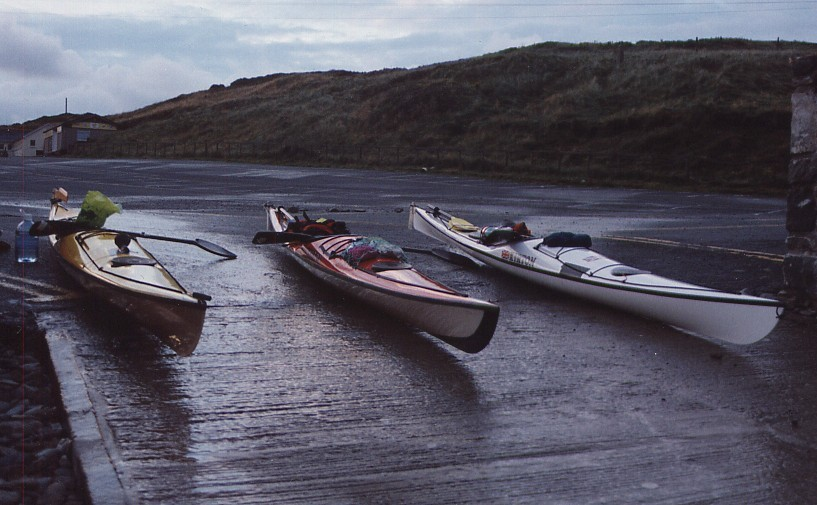 The Inuk kayak designed by Robin Feloy.