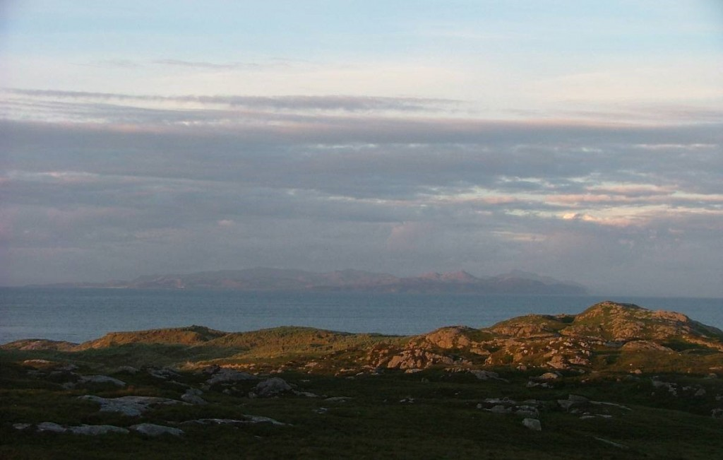Ardnamurchan from Coll