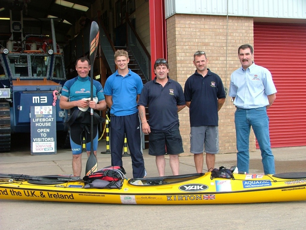 Mablethorpe lifeboat crew