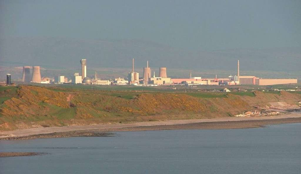 Sellafield Nuclear re-processing facility