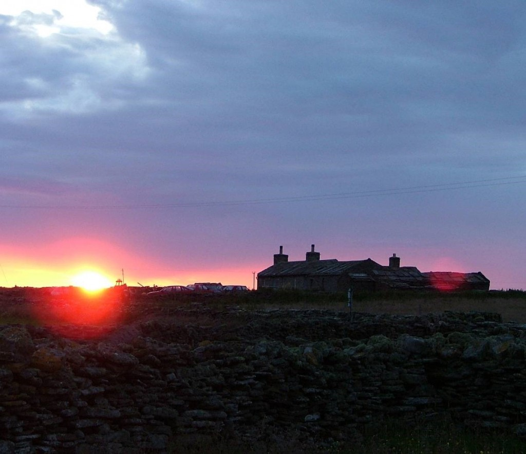 The Gray's croft, North Ronaldsay