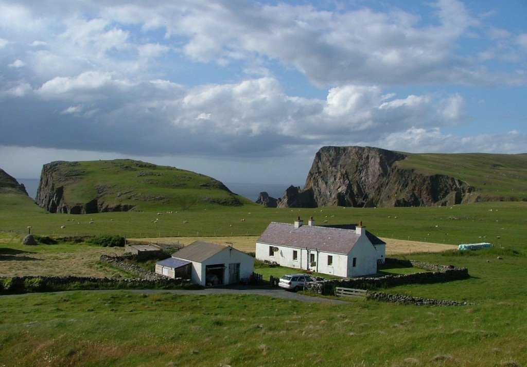 croft, Fair Isle