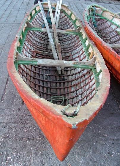 currach, Scraggane Pier1