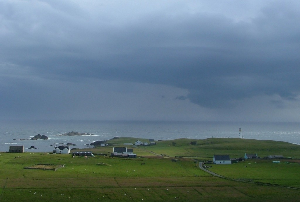 looking south from Fair Isle