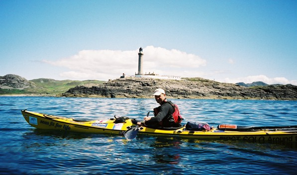 off Ardnamurchan with Ian Wilson