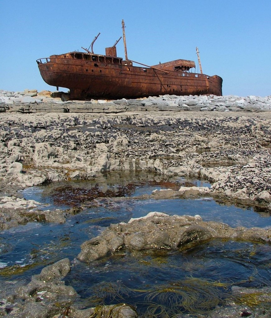 wreck of The Plassey, Inisheer